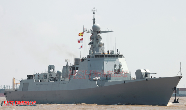 "A a new Type 052D guided missile destroyer was delivered and commissioned to the People's Liberation Army Navy (Chinese Navy) on Friday. The warship ""Kunming"" with hull number 172, was officially handed over at a ceremony held at the port of Jiangnan Shipyard (Group) CO., Ltd in Shanghai."