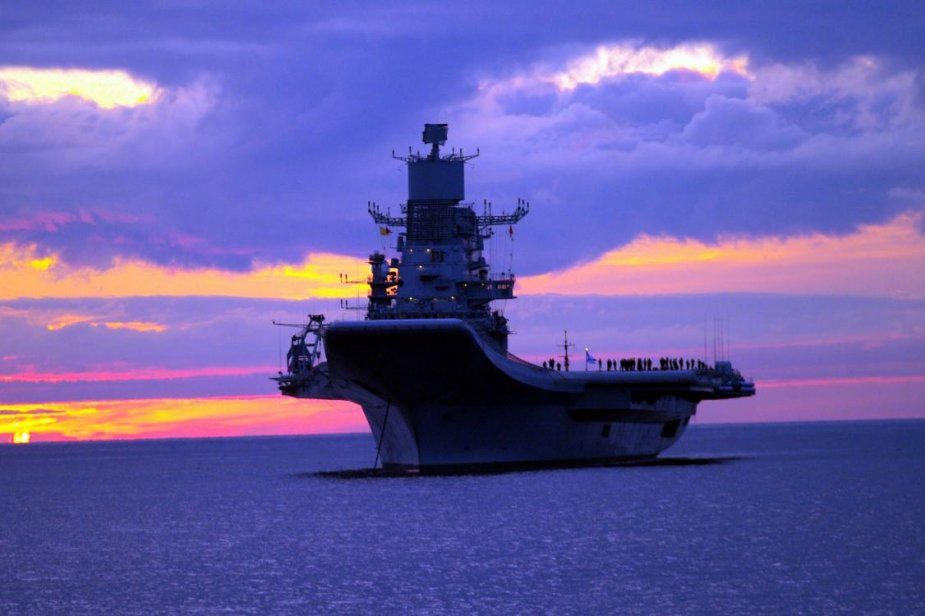 INS Vikramaditya Aircraft Carrier Navy India Technical Data 925 001