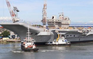 INS Vikrant Aircraft Carrier Navy India Technical Data 004