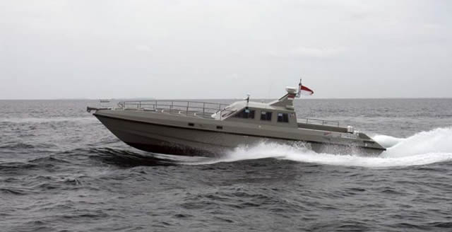 The VITESSE Mark II is a high speed military delta conic airventilated triple step hull interceptor type vessel made in Indonesia. It is a joint project between PT. Rizki Abadi and PT Royal Advanced Fiber (RAF boats). It was designed following a special request from Indonesian Special Forces for Anti-terror and interception missions.