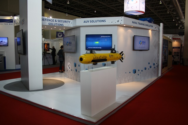 During the Langkawi International Maritime & Aerospace exhibition, LIMA 2015, currently held in Malaysia, Navy Recognition learned from ECA Group about the sale of the French company's first next-generation A18 autonomous underwater robot for several million euros. The robot will be delivered to the undisclosed customer in 2016.