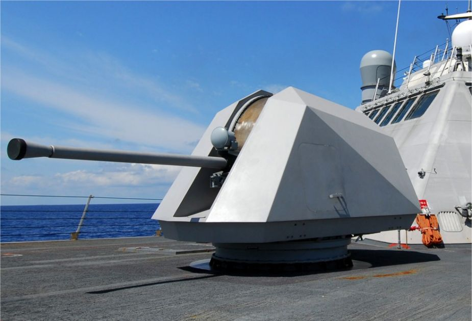 BAE Systems presents its full range of naval guns at LIMA 2019 Langkawi Malaysia 925 001
