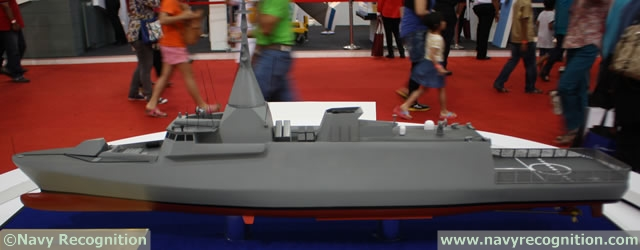 Gowind class SGPV LCS Frigate - Royal Malaysian Navy