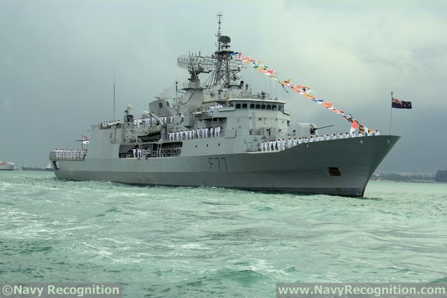 Frigate HMNZS Te Kaha - Royal New Zealand Navy