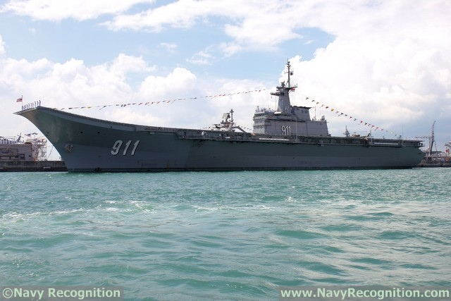 Helicopter Carrier Chakri Narubet - Royal Thai Navy