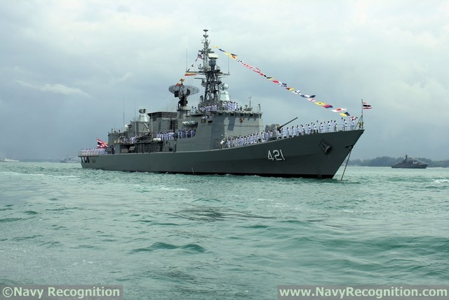 Frigate HTMS Naresuan - Royal Thai Navy