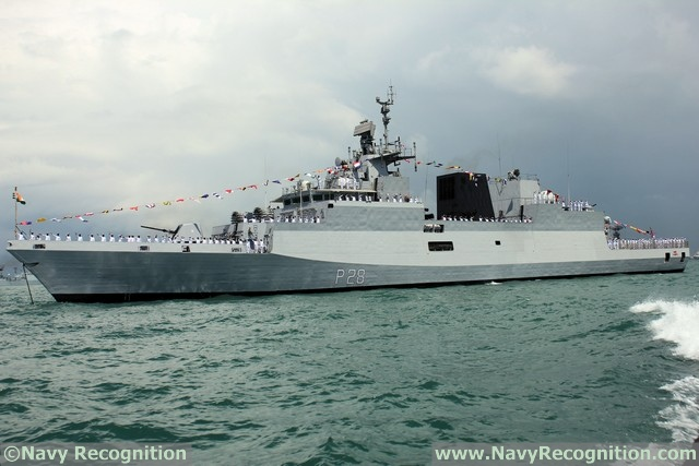 ASW Corvette INS Kamorta - Indian Navy
