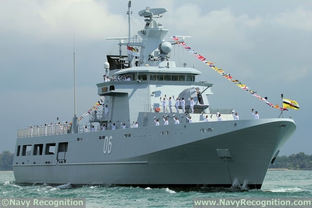 Offshore Patrol Vessel KDB Darussalam - Royal Brunei Navy