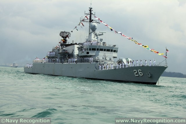 Corvette KD Lekir - Royal Malaysian Navy