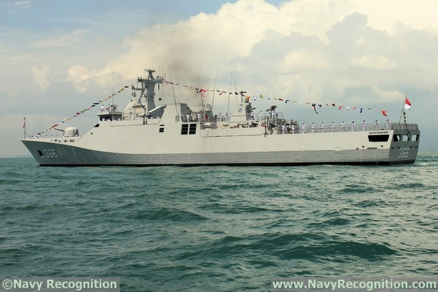 Corvette KRI Sultan Hasanuddin - Indonesian Navy