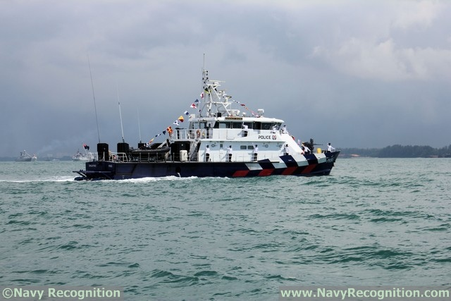Patrol Boat Sandbar Shark - Singapore Police & Coast Guard