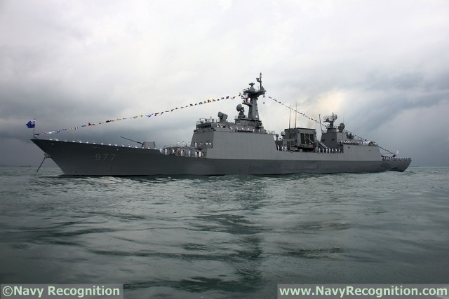 Destroyer ROKS Dae Jo Yeong - ROK Navy