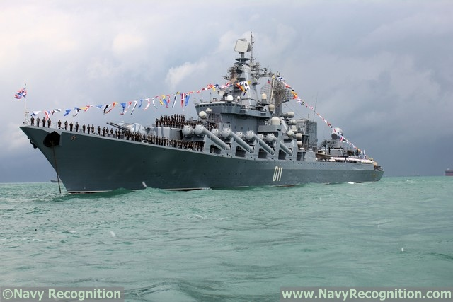 Guided Missile Cruiser Varyag - Russian Navy