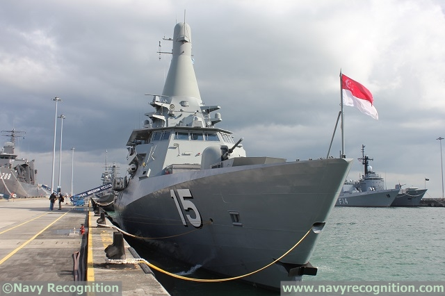 Aboard the Republic of Singapore Navy's Next Generation LMV RSS Independence