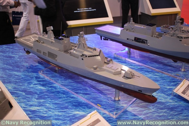 IMDEX Asia 2017: ST Marine Debuts its Vanguard Series of Surface Combatant