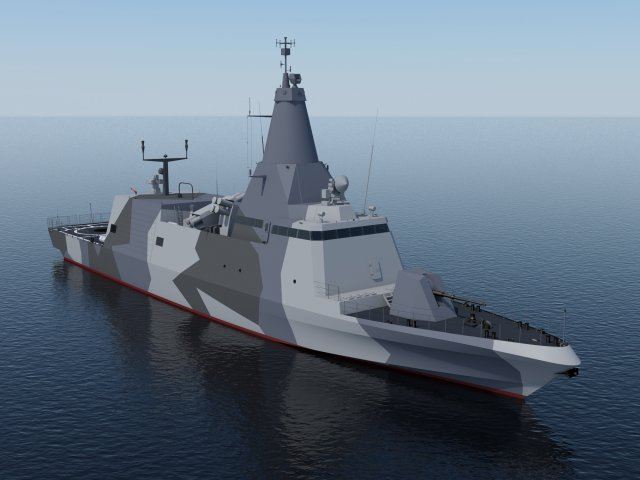 The COMBATTANTE BR71 Mk II vessel is an evolution and an upgrade of the CMN sea proven BR family vessels (Baynunah class). The vessel is designed for littoral warfare defence operations against air and surface threats and law enforcement.