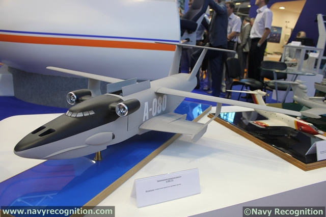 Development of New Ekranoplan Type GEV for Russia`s Navy is underway