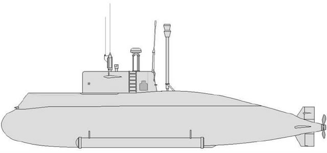 The Nahang (Whale) is an Iranian built diesel-electric submarine. Unveiled for the first time in 2006, its design and construction were said to have involved 220 researchers, and 1.2 million hours of scientific and industrial work.