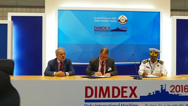MBDA has today signed a Memorandum of Understanding for the supply of a coastal defence system for the Qatar Emiri Naval Force (QENF). This Memorandum will pave the way in the short term for a contract with the value of 2.64 billion Qatari riyals (in the region of 640 million euros).
