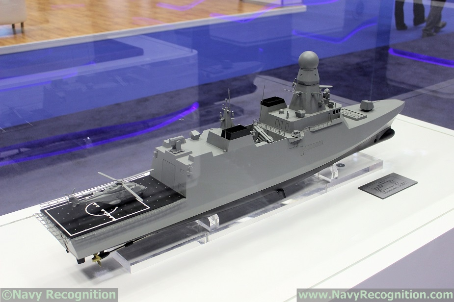 DIMDEX 2018 Fincantieri Unveils Qatari Navy Air Defense Corvette Design 3