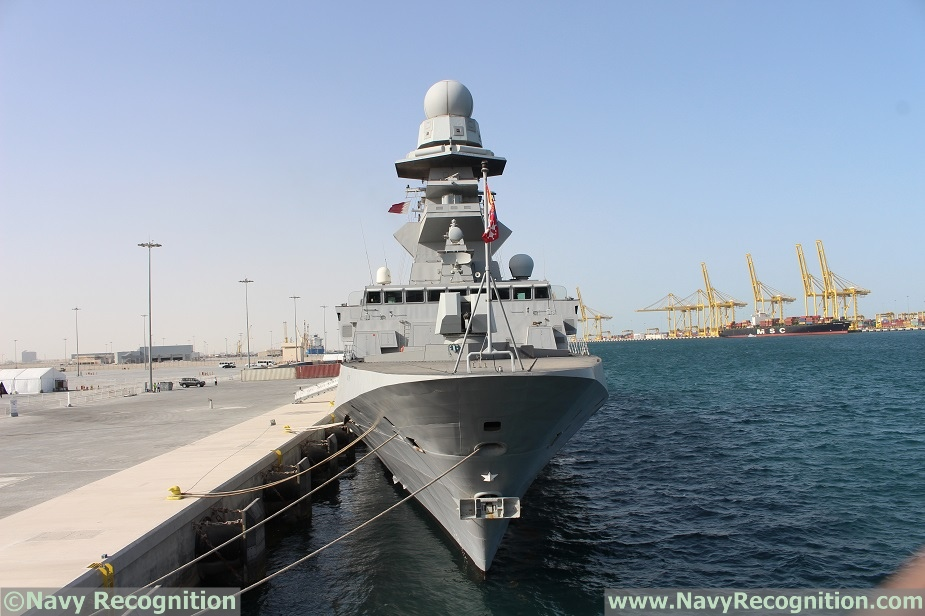 Italian Navy FREMM Frigate Carlo Margottini is at DIMDEX 2018 1