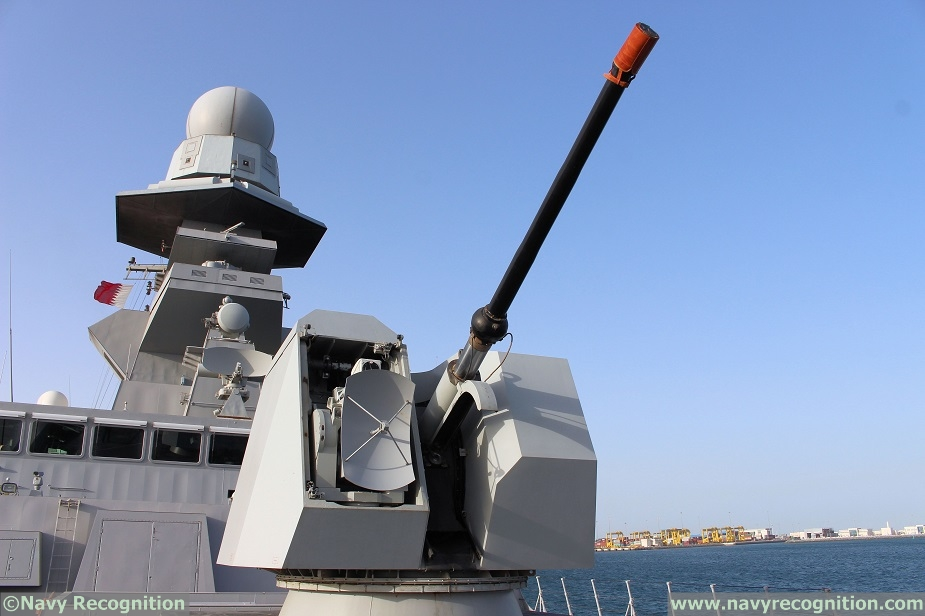 Italian Navy FREMM ITS Margottini with Leonardo Technologies