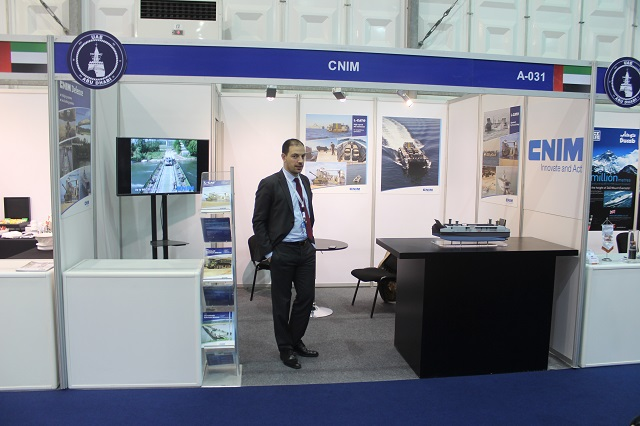 The CNIM Group designs and produces turnkey industrial solutions with high technological content, it offers unique research / expertise services. At NAVDEX 2015, CNIM showcased its landing catamaran L-CAT.