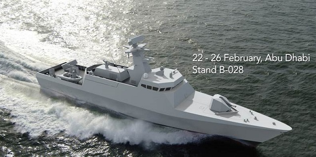 The Damen Shipyards Group will be exhibiting at IDEX/NAVDEX 2015 from 22 - 26 February in Abu Dhabi where we will showcase our latest products and developments. The DAMEN portfolio covers the full range of water-borne requirements for naval and security forces, including landing craft, fast interceptors, offshore patrol vessels, corvettes, frigates, amphibious vessels and a wide variety of naval support vessels, all build to world-renowned Dutch standards of quality and ingenuity.