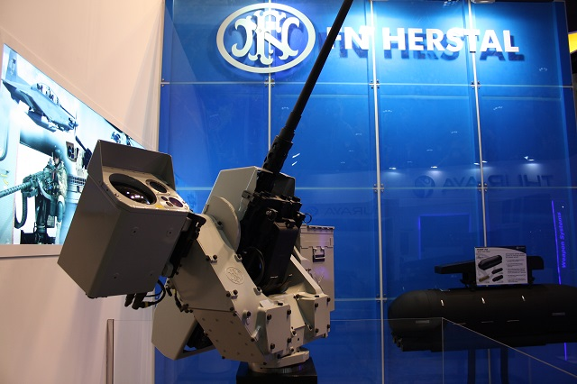 At IDEX 2015 exhibition in Abu Dhabi, Belgian company FN Herstal is showcasing the new Sea deFNder® Remote Weapon Station (RWS). This is the third model in the deFNder® range, produced by world's leading firearms manufacturer, FN Herstal. Engineered for use by naval forces and coastguards, it follows the innovative deFNder® Light and the deFNder® Medium into global service.