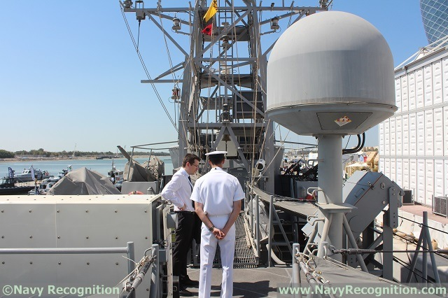 While visiting the Cyclone class Coastal Patrol Boat USS Monsonn at NAVDEX 2015, Navy Recognition noticed the vessel was fitted with a new weapon system: The Raytheon made Griffin Missile System (MK-60 Patrol Coastal Griffin Missile System as called in the U.S. Navy). Navy Recognition's chief editor met with the Captain to learn more about the new capabilties this freshly installed weapon system brings to the Cyclone class.