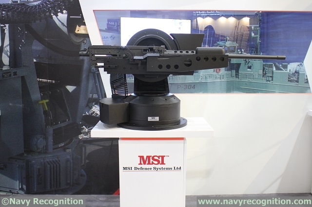 MSI Defence Seahawk Multi Weapon Station MWS 1