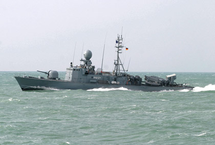 The German navy has decided to retire early the Type 143A fast patrol boats (FPBs) Nerz and Dachs and the Type 333 minehunters Kulmbach and Laboe on 31 March 2012.The boats were already taken out of use last spring and their crews made available for other vessels. The boats are over 20 years old, with the Nerz having entered service on 14 July 1983, the Dachs on 22 March 1984, the Laboe on 7 December 1989 and the Kulmbach on 23 May 1990.