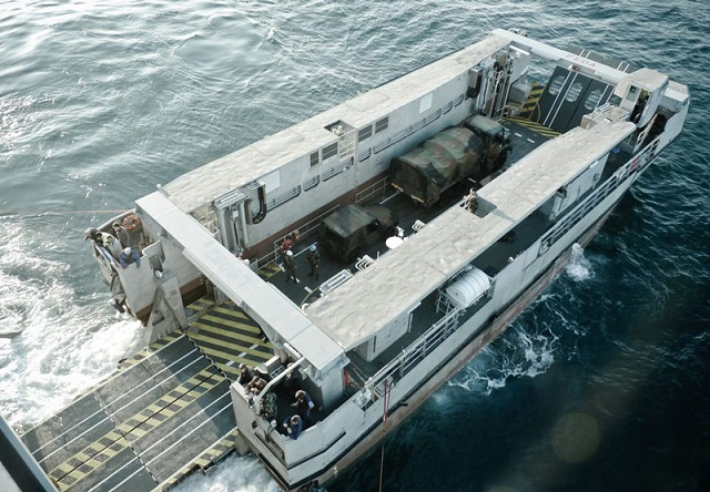 "On November 24, 2011 the Direction Générale de l'Armement (DGA - French Procurement Agency) has taken delivery of the first fast amphibious landing craft (dubbed EDA-R for ""engin de débarquement amphibie rapide""). The EDA-R offers five times the landing capacity of existing landing craft currently in service with the French Navy. The EDA-R will be used by the Marine Nationale's Mistral class LHDs."