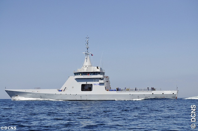 Designed and built by DCNS in less than 24 months, if the Gowind® OPV L'Adroit is a major industrial and technological achievement, Terma also made a commitment to deliver an affordable but highly capable radar package to DCNS within a very short timeframe.