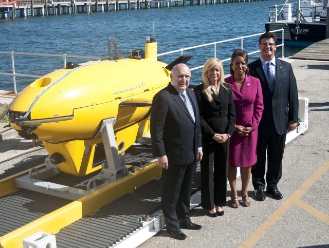 Space Florida and Lockheed Martin have signed an agreement to advance the testing and production of a new autonomous underwater vehicle (AUV) known as Marlin™ in support of aerospace economic development in the state of Florida. Lockheed Martin will outfit the Marlin systems with sophisticated sensors and imaging equipment to conduct commercial underwater inspections. The systems are well suited for use in the oil and gas industry as a safe and cost-effective way to inspect underwater infrastructure and pipelines, especially after severe weather such as hurricanes.
