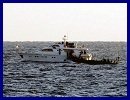 Initial contact was made between the Israel Navy and the vessels Tahrir and Saorise which are sailing towards the Gaza Strip. The purpose of this attempt is to create a provocation against the State of Israel, to break the maritime security blockade on Gaza, and to undermine Israel's security.