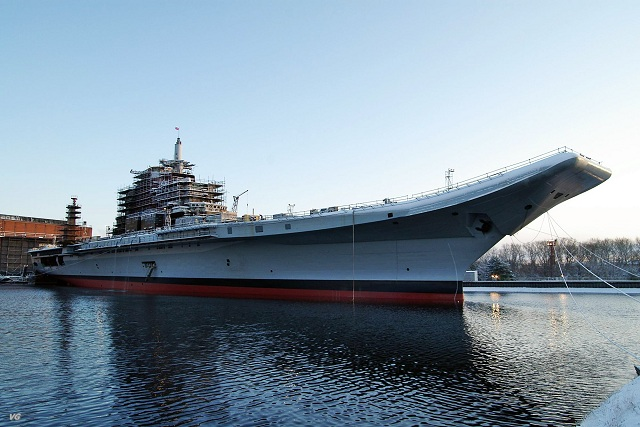Sea trials of an Indian Navy aircraft carrier refitted by a Russian shipyard were unsuccessful due to design failures in the vessel's boilers, Russian daily Vedomosti wrote on Tuesday quoting the shipyard's former director Oleg Shulyakovsky.