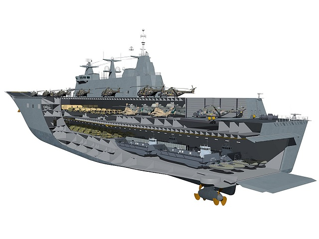 The Australian government has approved the purchase of 12 landing crafts from Spanish shipbuilder Navantia for the navy's Canberra class landing helicopter dock ships. The LCM-1E landing crafts are the same type used by the Spanish Navy. With a length of 23.3 meters and a breadth of 6.4 meters they can reach 20 knots and have a range of 190 miles.