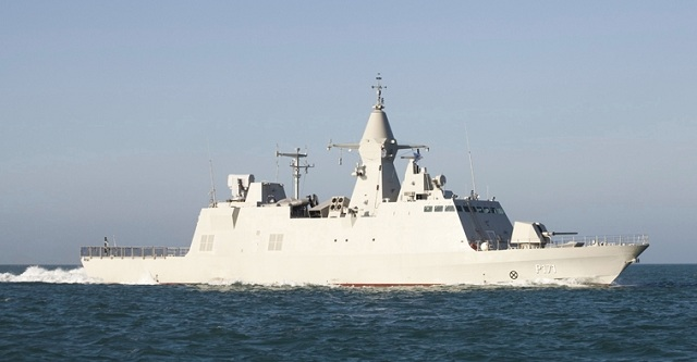 The first of six multi-mission corvettes ordered by the UAE has successfully completed all of its testing program. Designed and assembled by CMN Cherbourg the Baynunah left the Atlantic French Shipyard to reach the Persian Gulf. The vessel will then undergo a further testing period of four months to test its weapon systems and sensors, prior to its acceptance by the UAE Navy and its commissioning.
