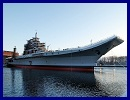 A Russian aircraft carrier which is being refurbished for the Indian Navy will begin sea trials in May for the first time in two decades and is to be handed over to India by December 2012, a shipyard official said on Tuesday.