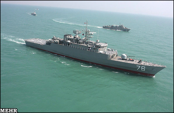 "Iranian Navy Commander Rear Admiral Habibollah Sayyari announced that the country plans to move vessels into the Atlantic Ocean to start a naval buildup ""near maritime borders of the United States"""