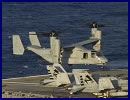 When a V-22 Osprey from Marine Tiltrotor Operational Test and Evaluation Squadron (VMX) 22 landed for the first time on USS Harry S. Truman (CVN 75) on July 19, it highlighted another in a series of firsts for the unique tilt-rotor aircraft that has become an integral part of the U.S. naval forces.