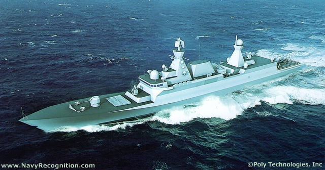 New Chinese made Destroyer of unknown type