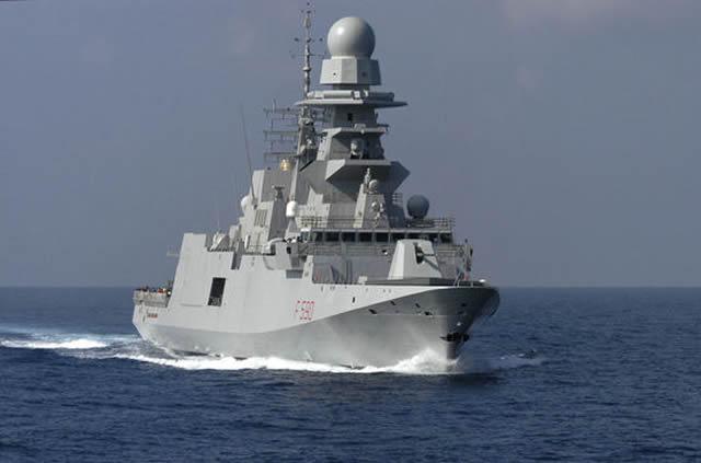 "The 29th of May 2013 was a great day for European collaboration and for Italy. One of the most significant FREMM Programme High Level Objective was achieved. At Fincantieri-Muggiano premises (La Spezia) the Italian Frigate ""Carlo BERGAMINI"" was accepted by OCCAR and delivered to the Italian Navy."