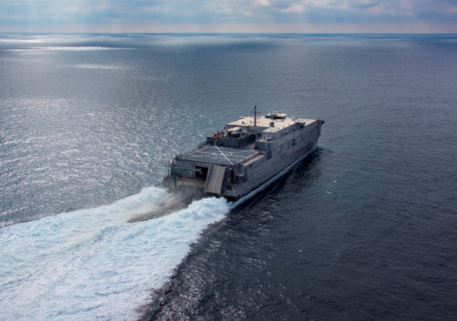 Austal has welcomed news that Expeditionary Fast Transport 2 (T-EPF-2), USNS Choctaw County, has been forward deployed to the US Navy 5th Fleet in Bahrain. The 103m USNS Choctaw County arrived in NSA Bahrain in February and is the first ship of its kind to operate in the US Navy's Naval Forces Central Command area - which includes the Arabian Gulf, Gulf of Oman, North Arabian Sea, Gulf of Aden and the Red Sea.