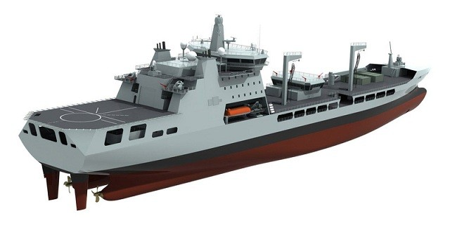 A new generation of 37,000-tonne tankers is to be ordered for the Royal Fleet Auxiliary (RFA) to support future Royal Navy operations around the globe, the MOD has announced on 22 feb. Daewoo Shipbuilding and Marine Engineering (DSME) is the Government's preferred bidder for the deal.