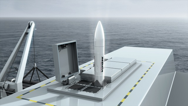 MBDA is pleased to announce the award of the FLAADS (Future Local Area Air Defence System) Demonstration Phase Contract by the Ministry of Defence. Under this £483M contract, MBDA will develop the naval air defence system, named SEA CEPTOR, to replace the Vertical Launch Seawolf currently in service on the Royal Navy's Type 23 frigates. Significantly, SEA CEPTOR is also planned to be the principal air defence system on the successor Type 26 Global Combat Ship.