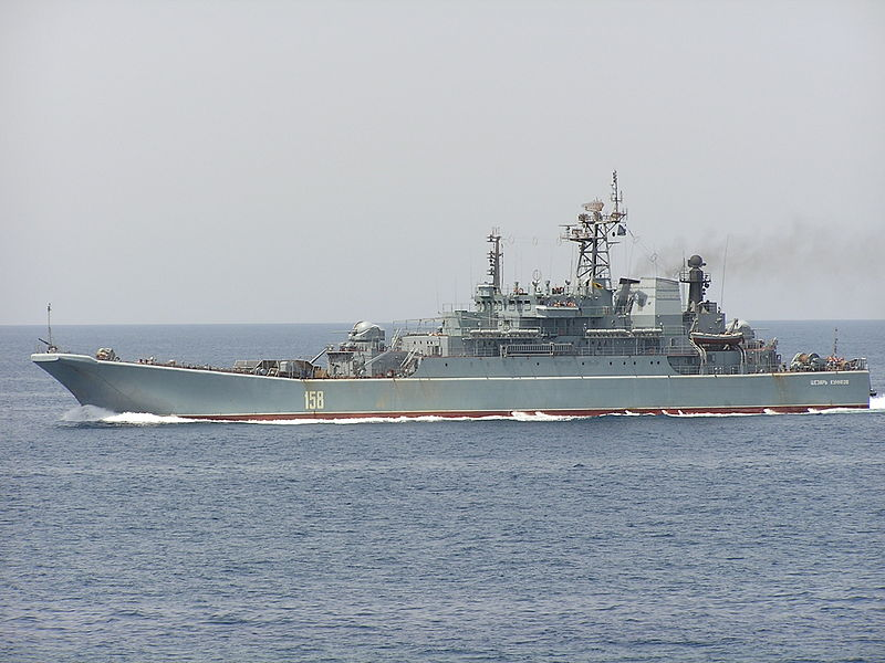 Russia will send the Caesar Kunikov amphibious landing ship to the international Black Sea Naval Force (Blackseafor) naval exercise, Black Sea Fleet press secretary Vyacheslav Trukhachev said on Friday.