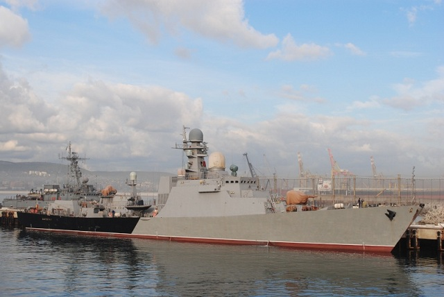 Russia's second Gepard class frigate has successfully test-fired missiles from the new Kalibr-NK missile system during the first stage of sea trials in the Black Sea, a spokesman for Russia's Southern military district said on Thursday.
