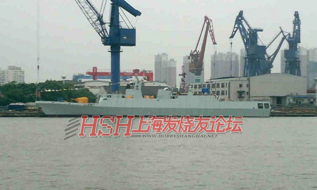 May 22, 2012 in the night at the Hudong Shipyard in Shanghai (part of the China state shipbuilding corporation - CSSC) the head unit of the Type 056 Corvette for the Chinese Navy was launched. Construction of the ship started in 2010.